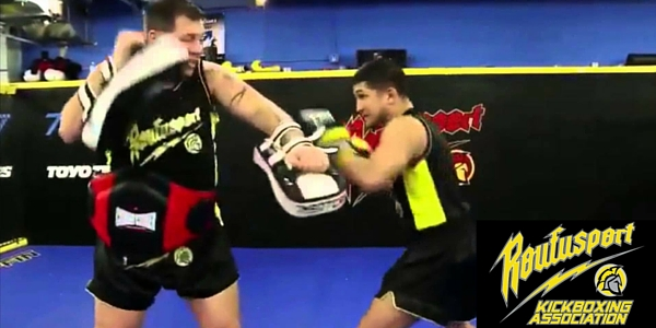 kickboxing techniques used by Duke Roufus